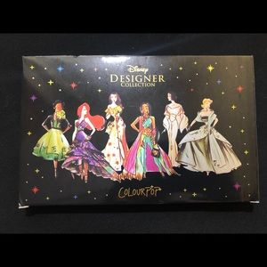 New In Box Colorpop Disney Designer Pallette